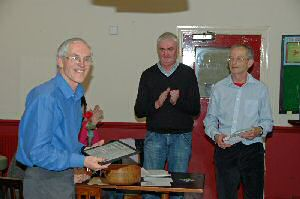 Andy H receiving honorary life membership